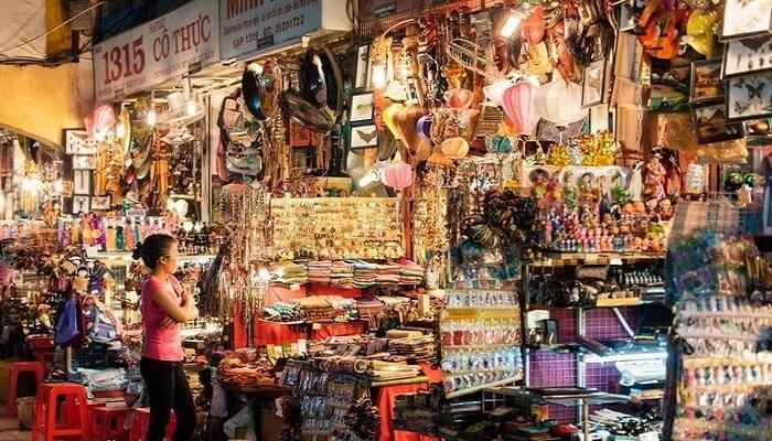 chợ ở Sài Gòn