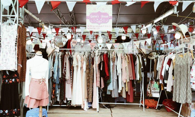 chợ phiên Sài Gòn