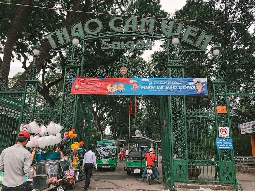 địa điểm tham quan Sài Gòn ban ngày