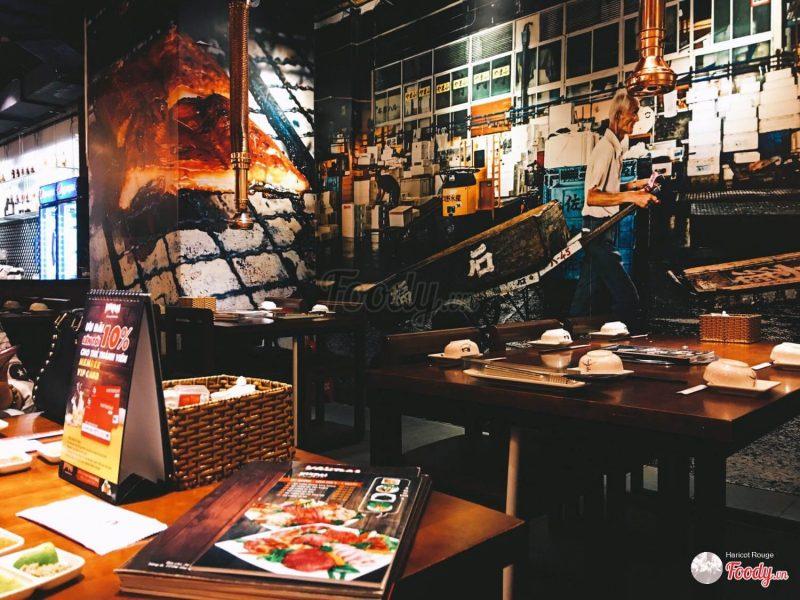 nhà hàng đồ nướng ở Sài Gòn