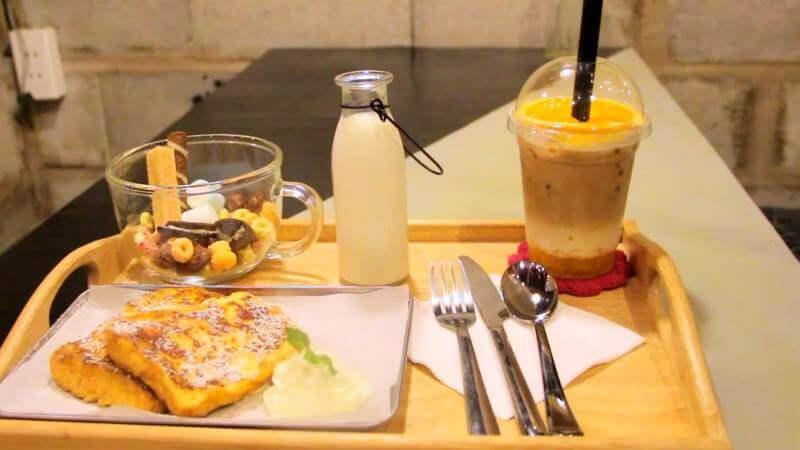 coffee nghỉ trưa ở TP HCM