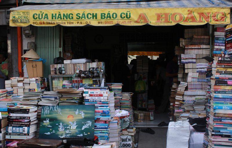 địa chỉ sách cũ Sài Gòn