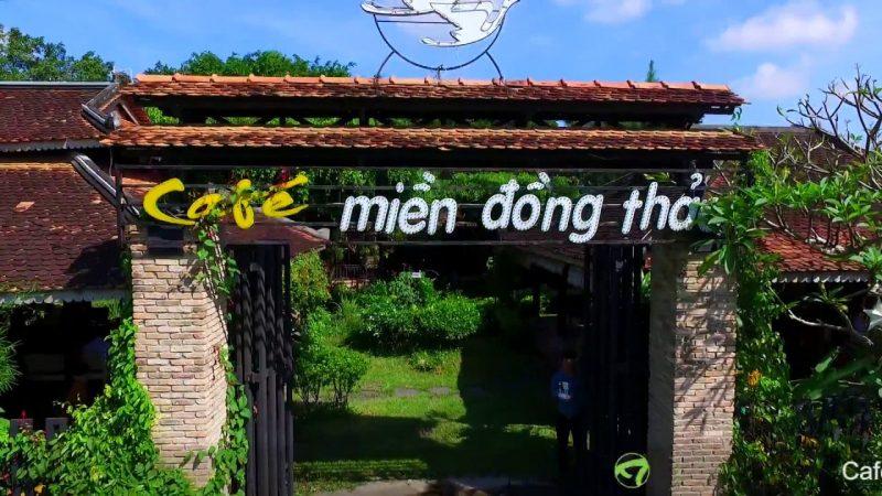 quán cà phê sân vườn Sài Gòn