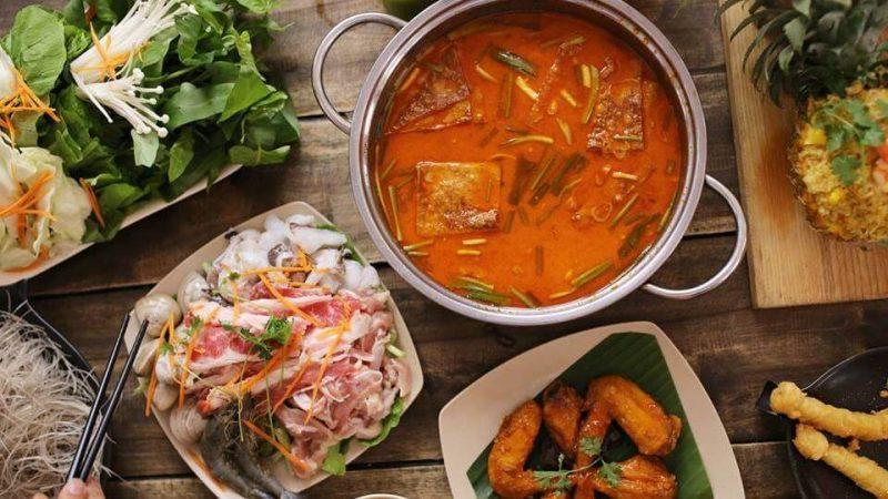 Nhà hàng buffet lẩu ở Sài Gòn