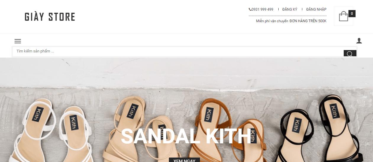 cửa hàng sneaker Sài Gòn
