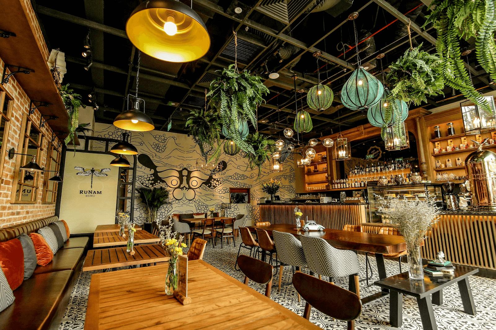quán cà phê lãng mạn sài gòn