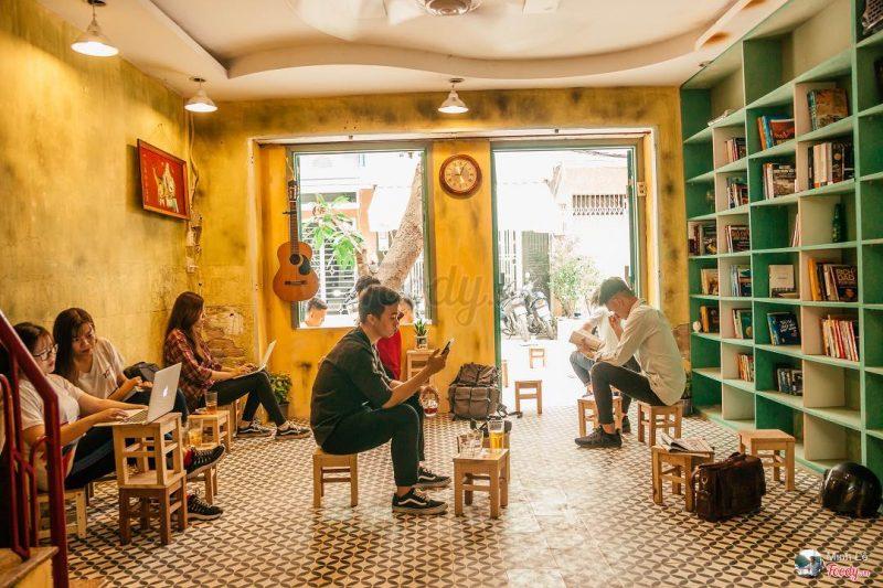 quán cafe đẹp quận 4 Sài Gòn