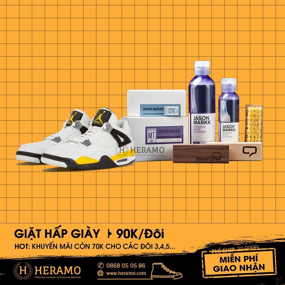 Dịch vụ vệ sinh giày Heramo