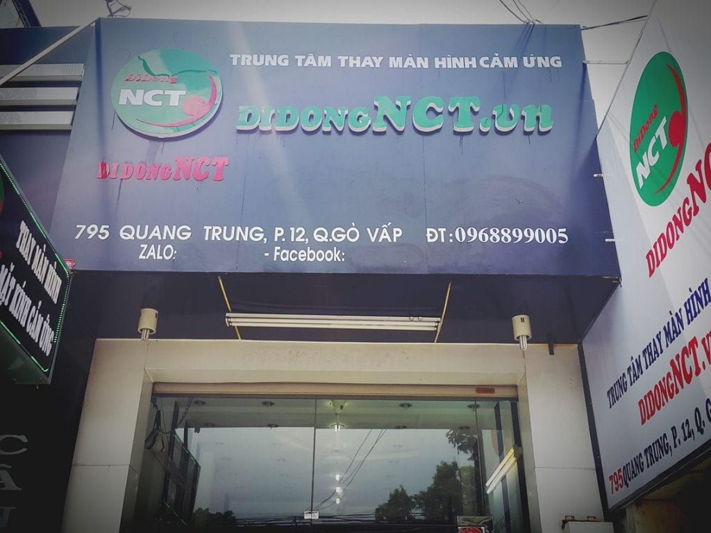 Sửa chữa điện thoại Sài Gòn