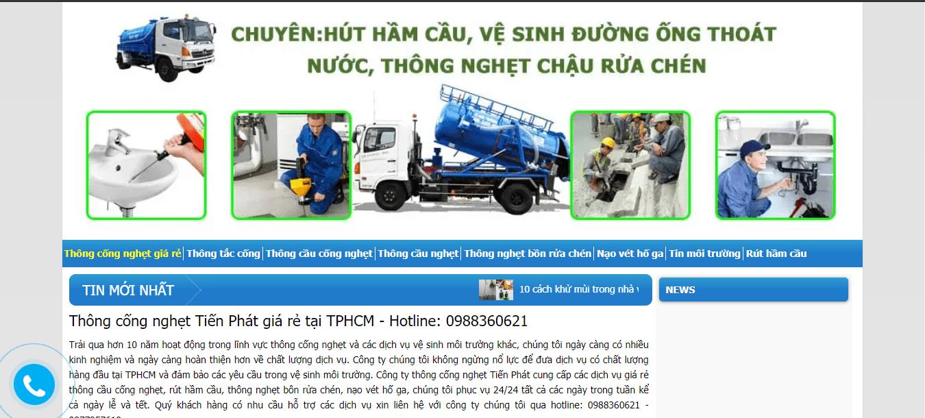 vệ sinh môi trường uy tín SG