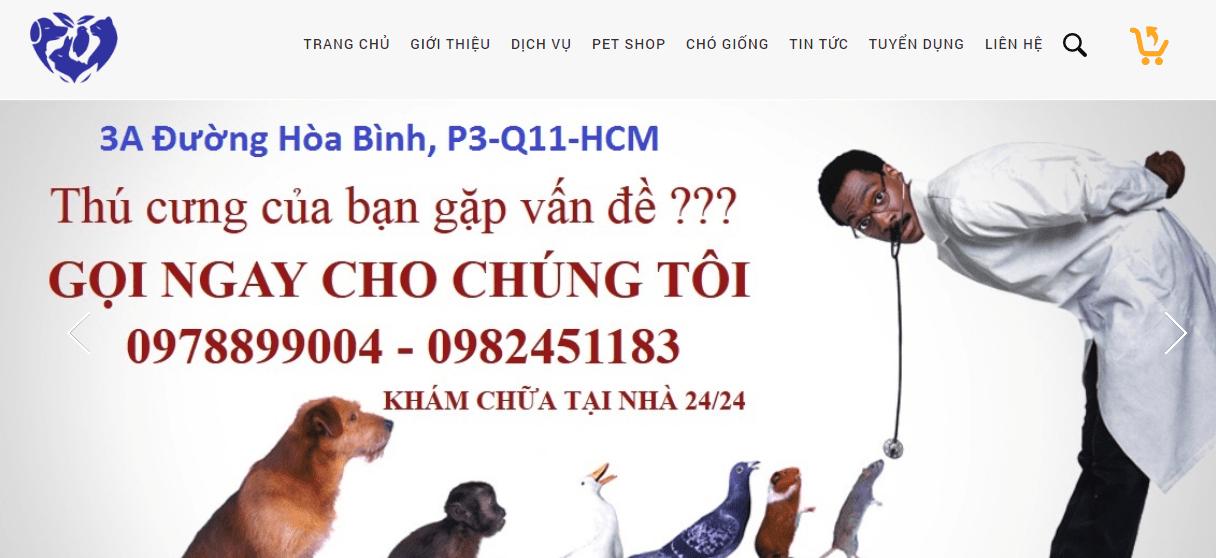 khám thú cưng tphcm