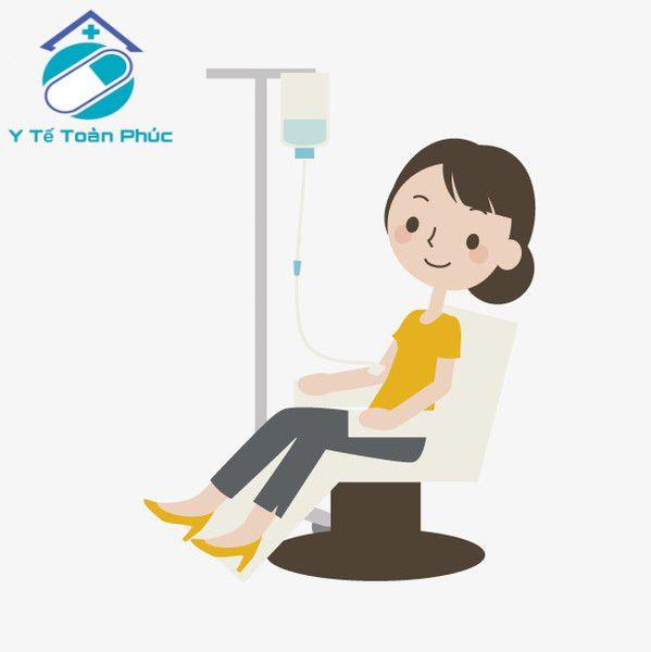 truyền nước tại nhà