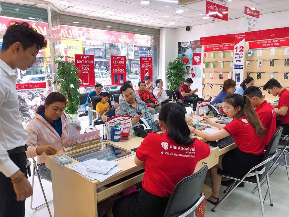Thay pin iPhone Sài Gòn