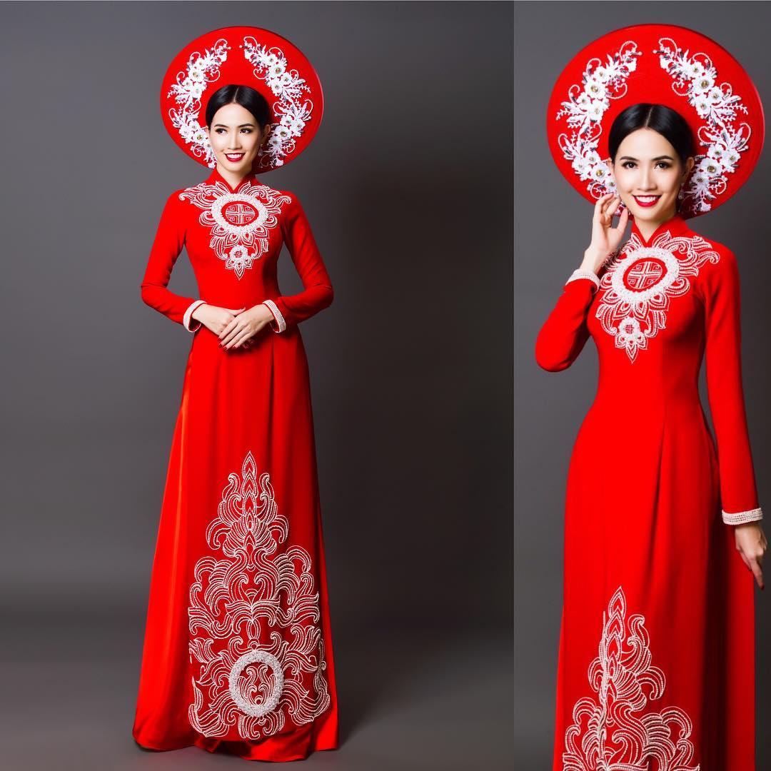 Áo dài cưới Tiên