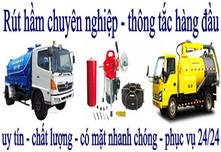 Hút Hầm Cầu Giá Rẻ Ở Quận Tân Phú