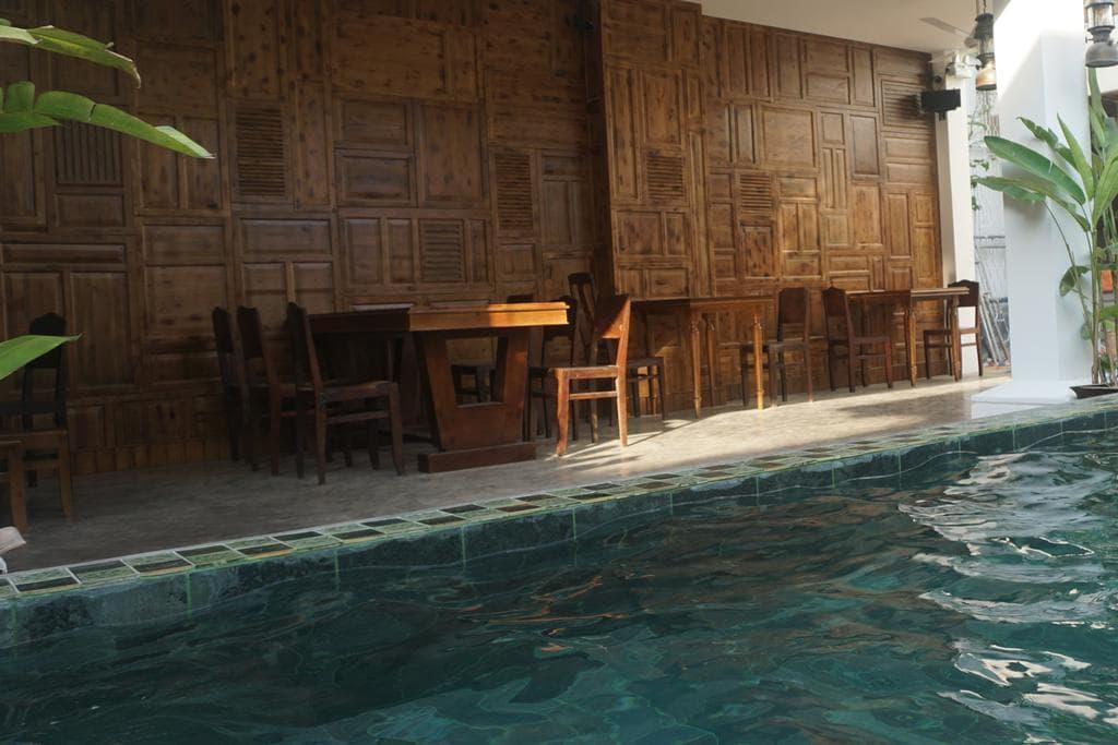 homestay sài gòn có hồ bơi