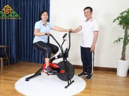 máy tập thể dục đạp xe