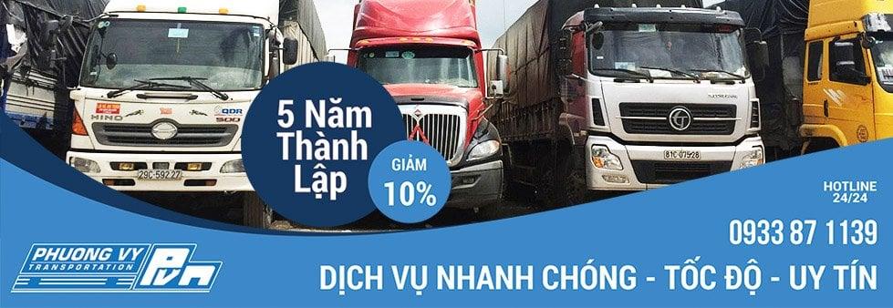 Chành xe chuyển hàng tại Sài Gòn
