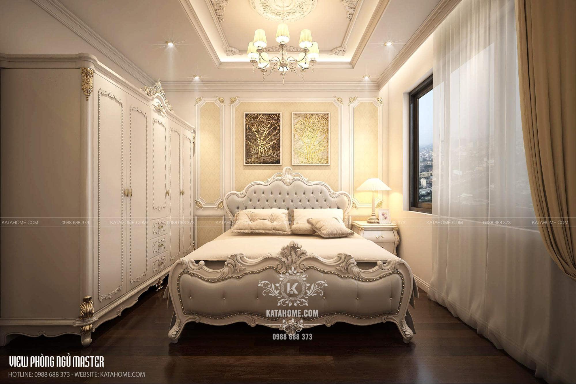 nội thất căn hộ chung cư 2 phòng ngủ