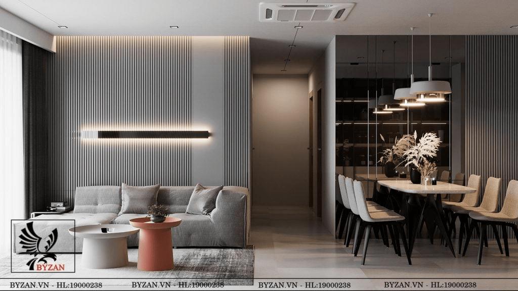 thiết kế thi công nội thất tân cổ điển