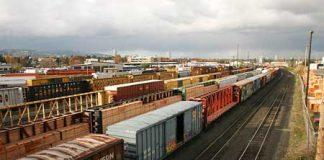 vận chuyển hàng bằng đường sắt