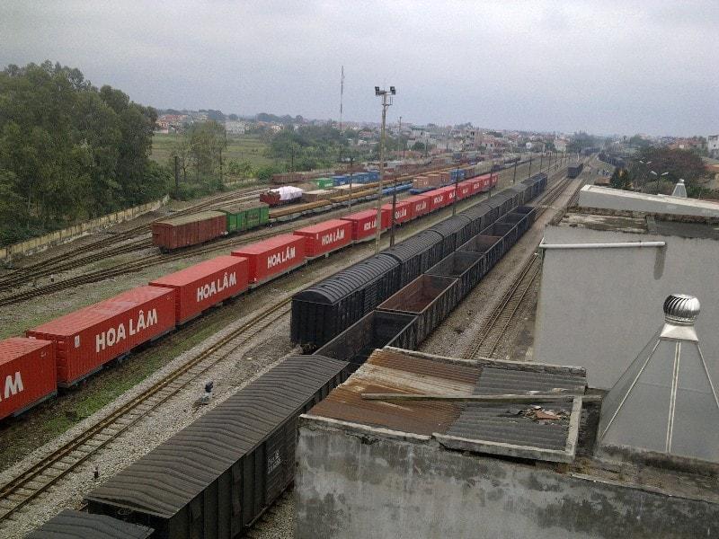 Vận chuyển hàng hóa bằng đường sắt tại Bình Dương