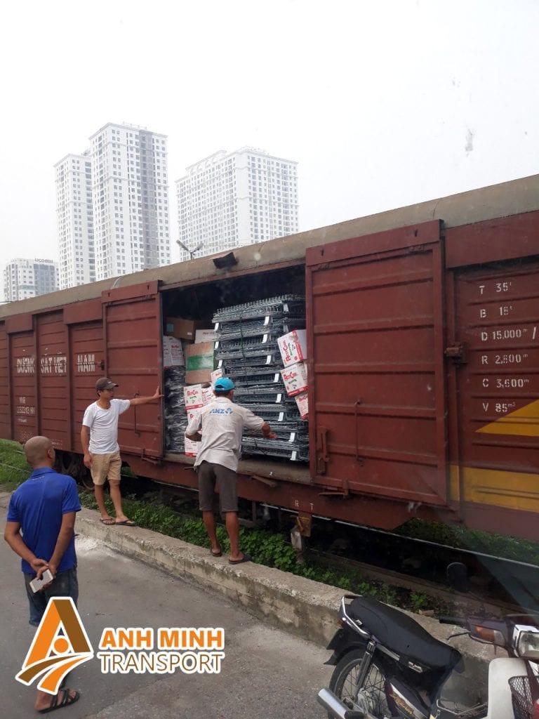 vận chuyển hàng bằng đường sắt ở long an