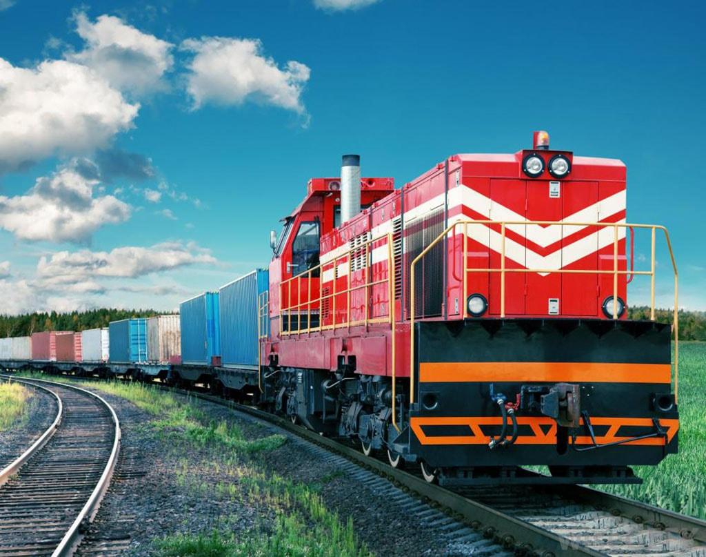vận chuyển hàng hóa bằng xe lửa