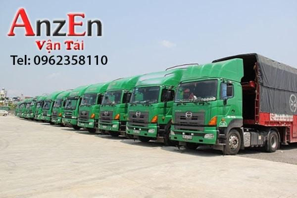 Chành xe chuyển hàng tại Long An