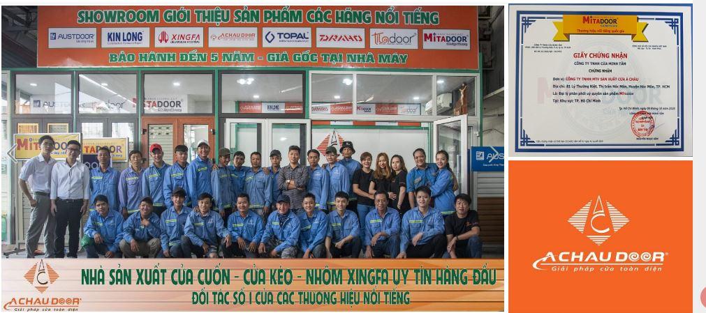 sửa cửa cuốn quận Bình Tân