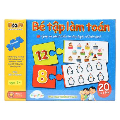 Đồ chơi toán học cho bé 3 tuổi