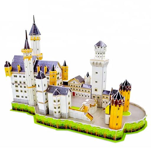 Đồ chơi thông minh lâu đài bằng giấy 3d