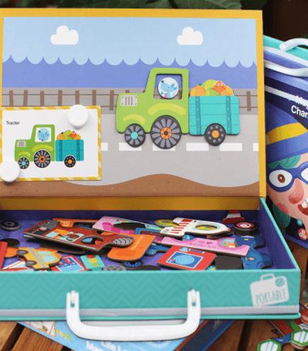 Vali ghép hình đồ chơi cho bé 3 tuổi