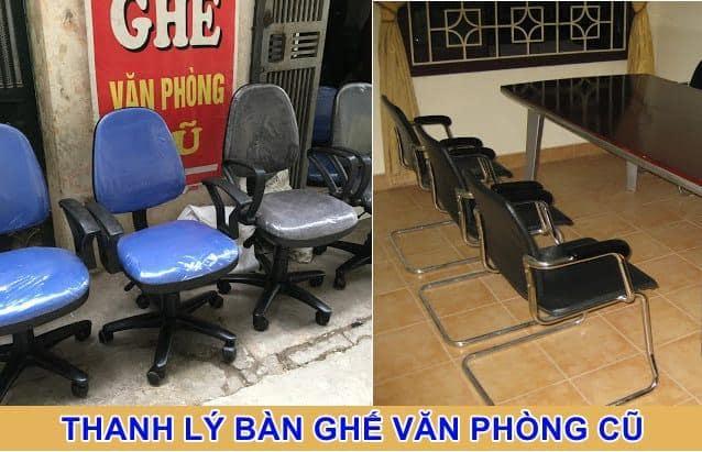 nội thất cũ văn phòng