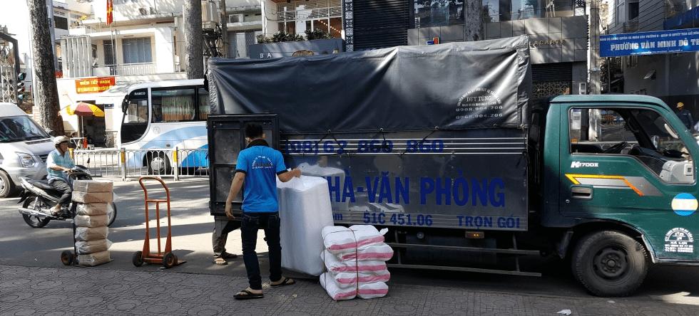 Dịch vụ Taxi tải Chuyển nhà Thanh Phương