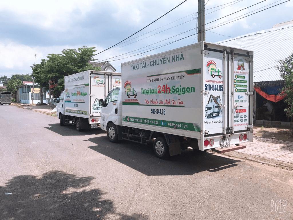 Taxi tải 24h - Dịch vụ chuyển văn phòng trọn gói TpHCM