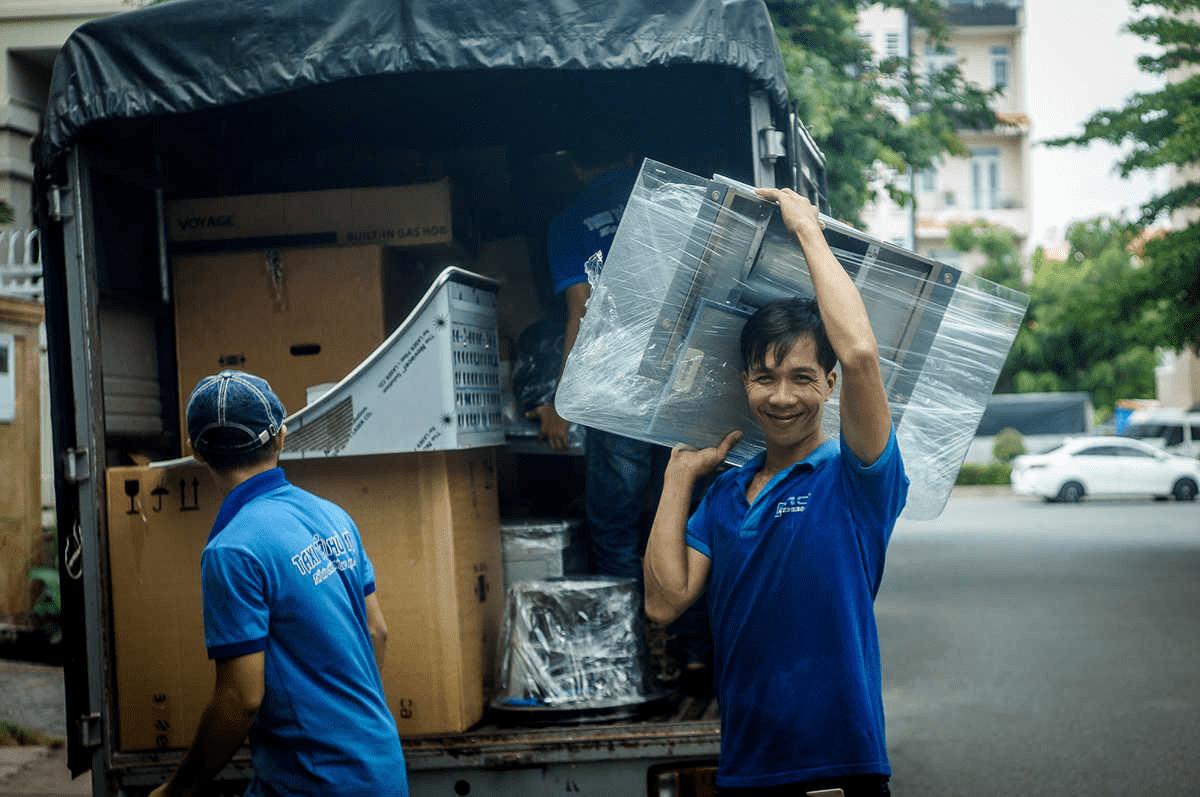 Dịch vụ chuyển văn phòng trọn gói TpHCM - Phú Mỹ express