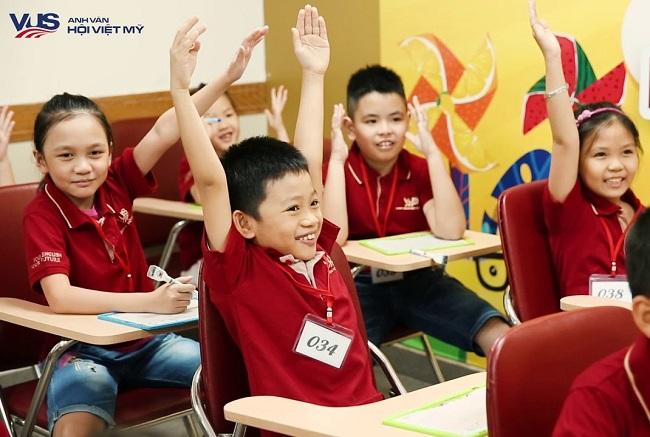 trung tâm tiếng anh cho trẻ em ở TPHCM
