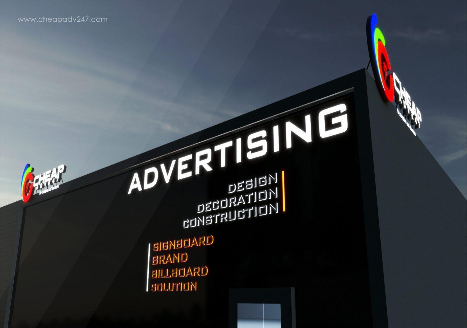 Công ty làm bảng hiệu quảng cáo tại TPHCM - CHEAPADV247