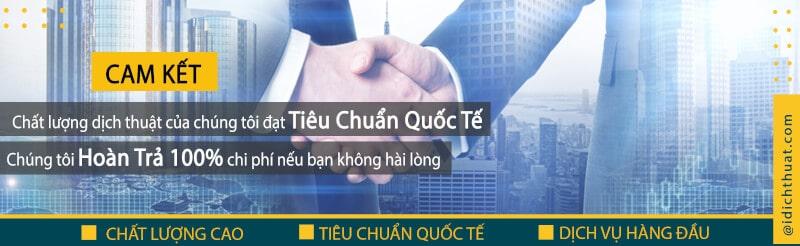 công ty dịch thuật uy tín tại Sài Gòn