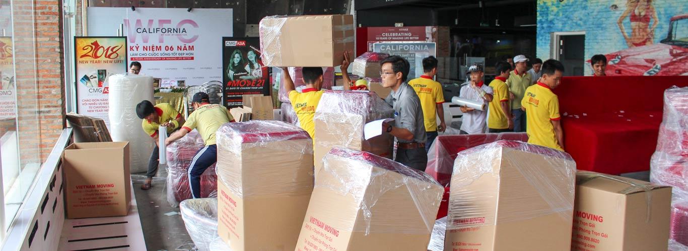 chuyển nhà trọn gói Sài Gòn