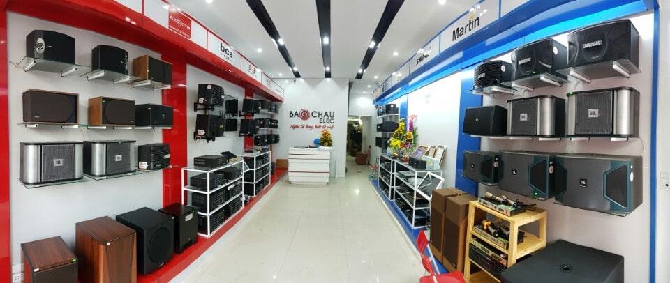 cửa hàng âm thanh TPHCM