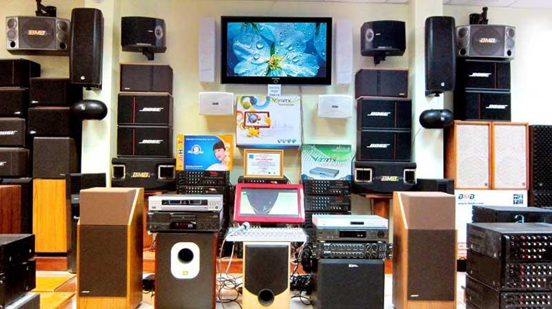 cửa hàng âm thanh chất lượng