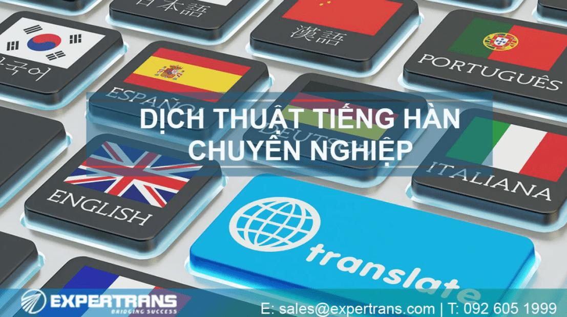 Công ty Dịch thuật & Phiên dịch Expertrans Global