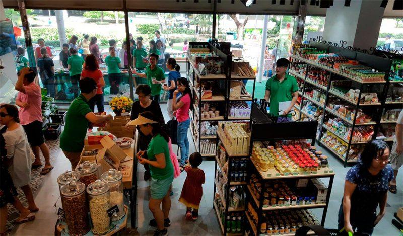 Cửa hàng thực phẩm 3 Sạch