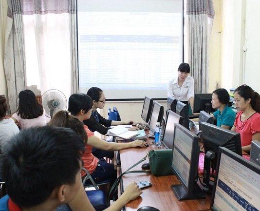 học kế toán thực hành TPHCM