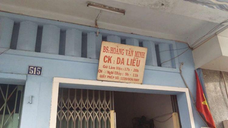 phòng khám da Hoàng Minh Vinh
