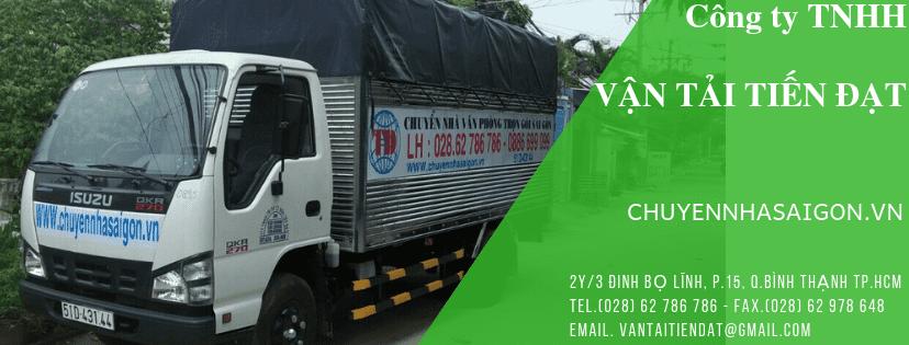 Dịch vụ chuyển nhà Bình Thạnh Sài Gòn