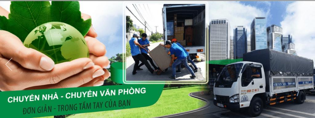 Công ty taxi tải Sài Gòn Xanh