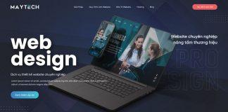 Thiết kế website đẹp TPHCM